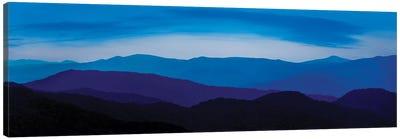 Misty Mountains IV Canvas Art Print