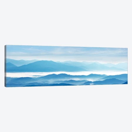 Misty Mountains IX Canvas Print #JML64} by James McLoughlin Canvas Art