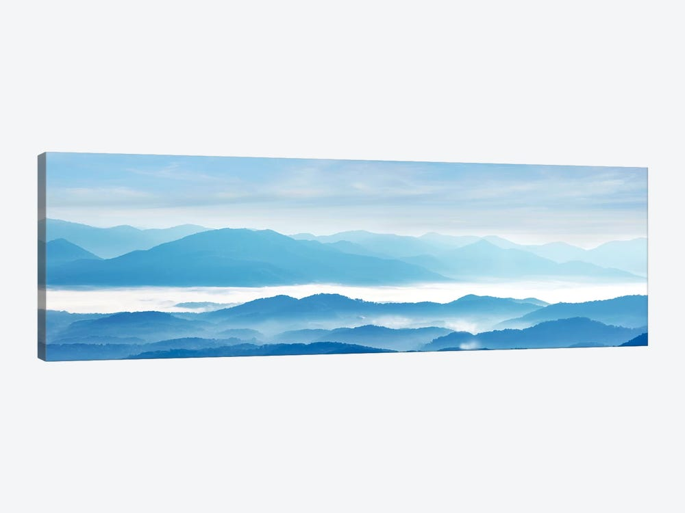 Misty Mountains IX by James McLoughlin 1-piece Canvas Art