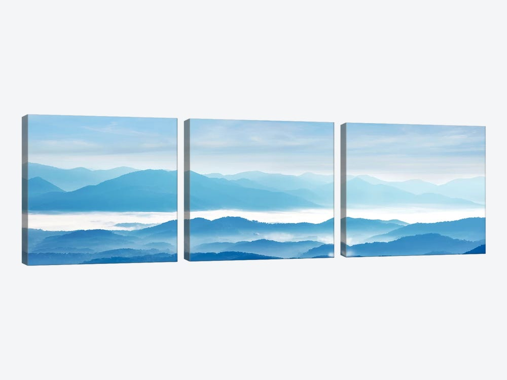 Misty Mountains IX by James McLoughlin 3-piece Canvas Art