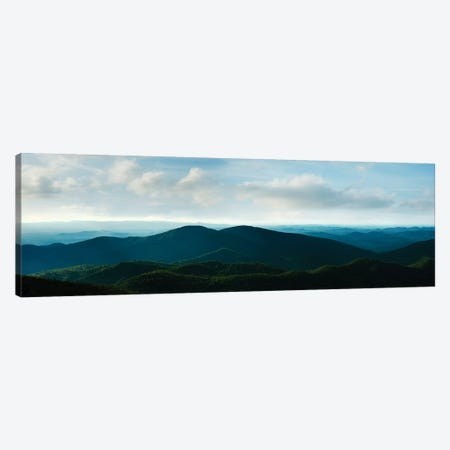 Misty Mountains V Canvas Print #JML65} by James McLoughlin Canvas Artwork