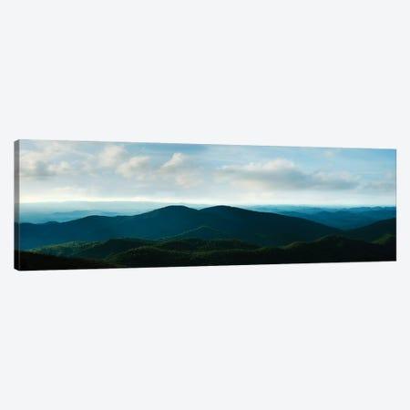 Misty Mountains V Canvas Print #JML65} by James McLoughlin Canvas Artwork