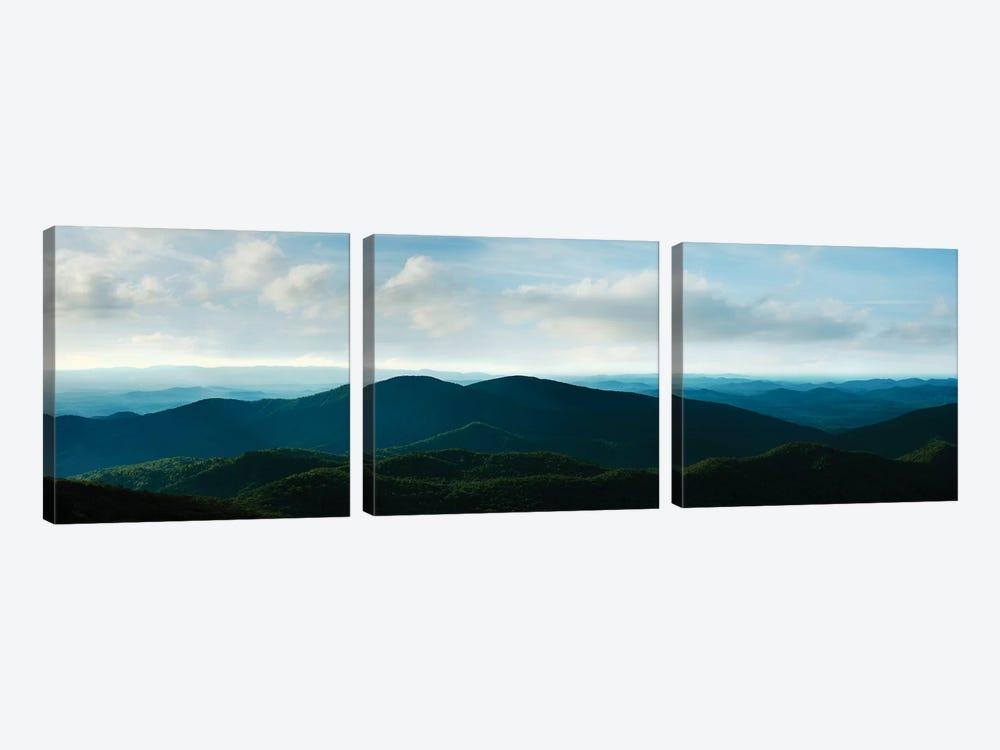 Misty Mountains V by James McLoughlin 3-piece Canvas Print