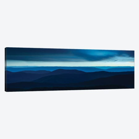 Misty Mountains VI Canvas Print #JML66} by James McLoughlin Canvas Wall Art