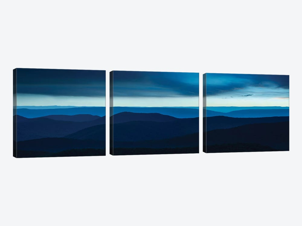 Misty Mountains VI by James McLoughlin 3-piece Canvas Wall Art