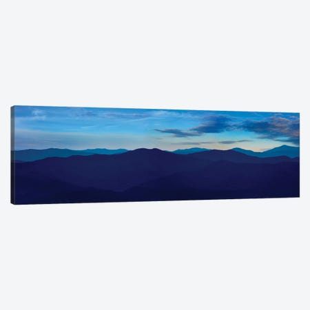 Misty Mountains VII Canvas Print #JML67} by James McLoughlin Canvas Art