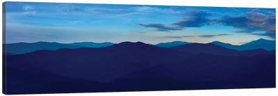 Misty Mountains VII Canvas Art Print