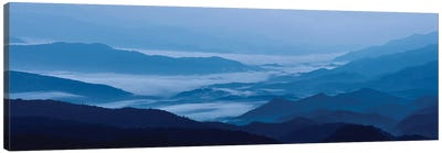 Misty Mountains VIII Canvas Art Print