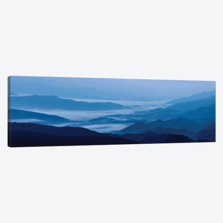 Misty Mountains VIII 3-Piece Canvas #JML68} by James McLoughlin Canvas Print