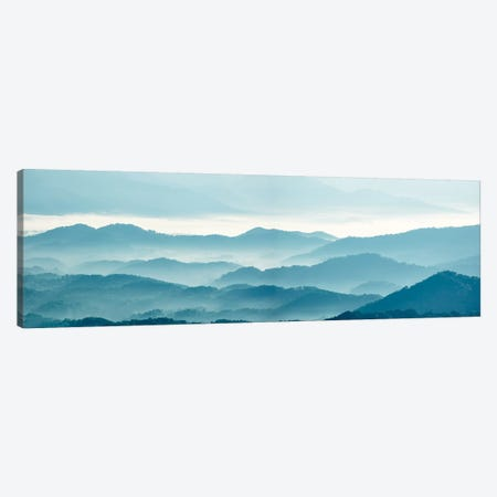 Misty Mountains X Canvas Print #JML69} by James McLoughlin Canvas Art Print