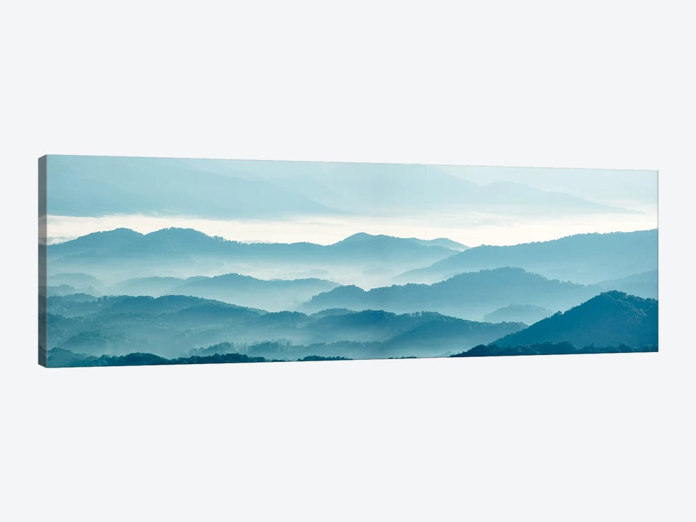 Misty Mountains X 1-piece Art Print