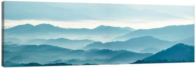 Misty Mountains X Canvas Art Print