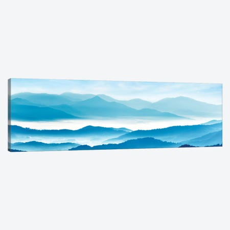 Misty Mountains XI Canvas Print #JML70} by James McLoughlin Canvas Art