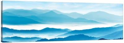 Misty Mountains XI Canvas Art Print