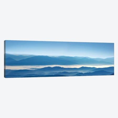 Misty Mountains XII 3-Piece Canvas #JML71} by James McLoughlin Canvas Artwork