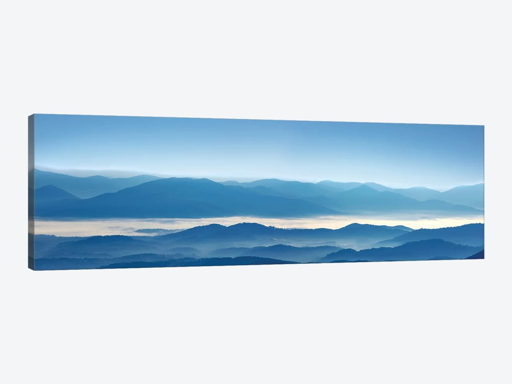 Misty Mountains XII by James McLoughlin 1-piece Canvas Wall Art