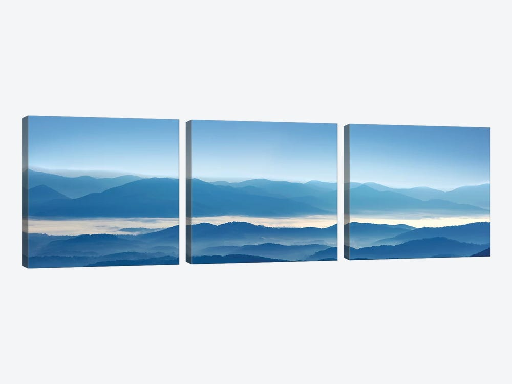 Misty Mountains XII by James McLoughlin 3-piece Canvas Art