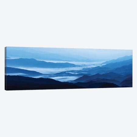 Misty Mountains XIII Canvas Print #JML72} by James McLoughlin Canvas Artwork