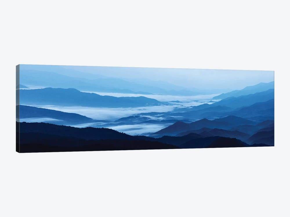 Misty Mountains XIII by James McLoughlin 1-piece Canvas Print