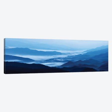 Misty Mountains XIII 3-Piece Canvas #JML72} by James McLoughlin Canvas Artwork