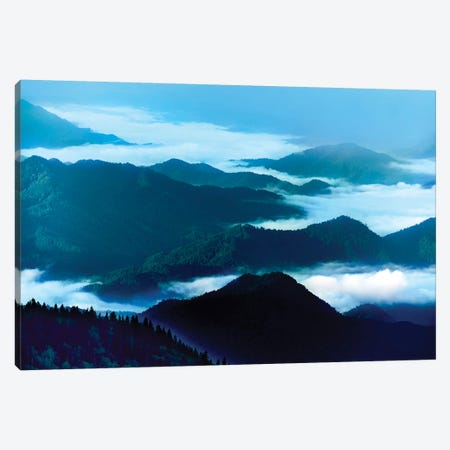 Misty Mountains XIV Canvas Print #JML73} by James McLoughlin Canvas Art