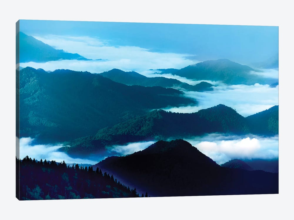 Misty Mountains XIV by James McLoughlin 1-piece Canvas Art