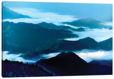 Misty Mountains XIV Canvas Art Print
