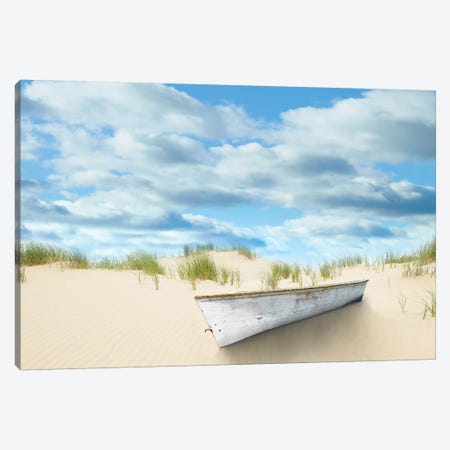 Beach Photography I Canvas Print #JML80} by James McLoughlin Canvas Art Print