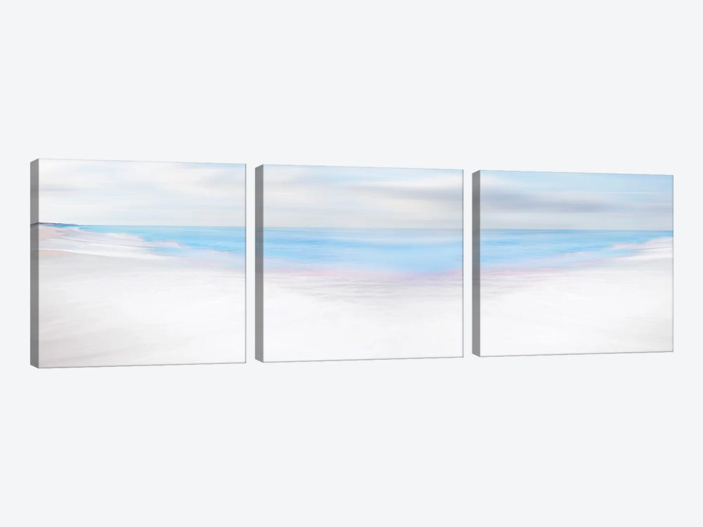 Beach Photography VII by James McLoughlin 3-piece Art Print