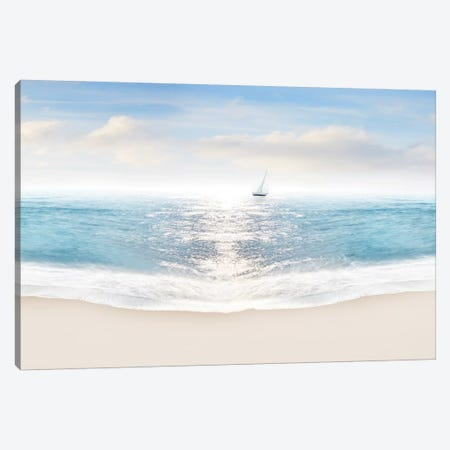 Beach Photography VIII Canvas Print #JML88} by James McLoughlin Canvas Art Print