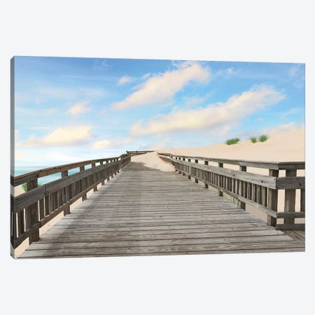 Beach Photography XI 3-Piece Canvas #JML90} by James McLoughlin Canvas Art