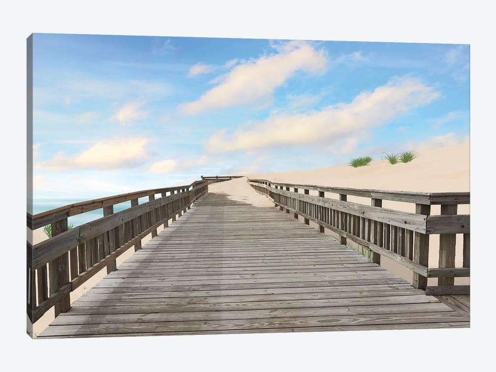 Beach Photography XI by James McLoughlin 1-piece Canvas Art Print