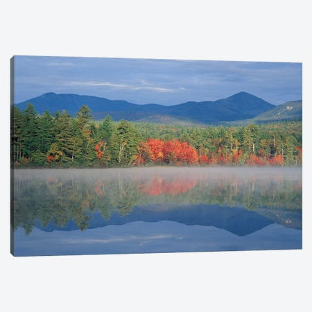 Autumn Reflections, Chocorua Lake, Carroll County, New Hampshire, USA Canvas Print #JMM1} by Jerry & Marcy Monkman Canvas Art Print
