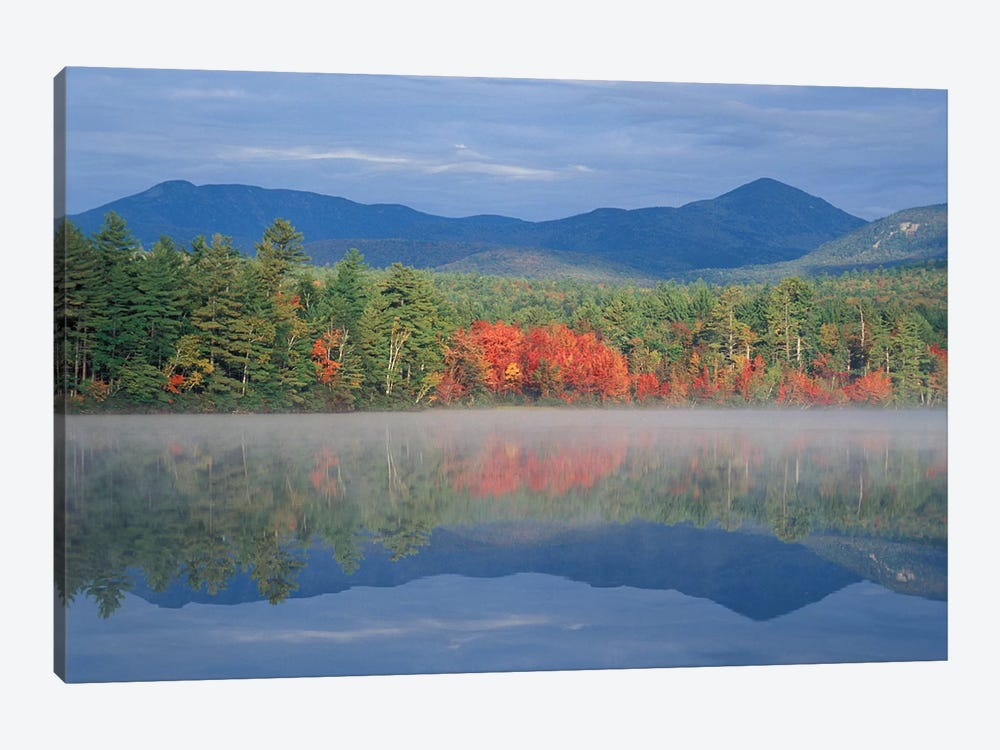 Autumn Reflections, Chocorua Lake, Carroll County, New Hampshire, USA by Jerry & Marcy Monkman 1-piece Art Print