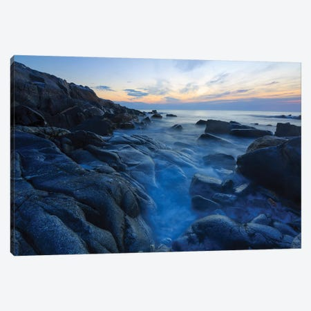 Dawn on Appledore Island, Maine. Isles of Shoals. Canvas Print #JMM3} by Jerry & Marcy Monkman Canvas Print