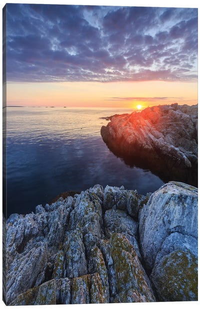 Sunrise on Appledore Island in the Isles of Shoals, New Hampshire II Canvas Art Print