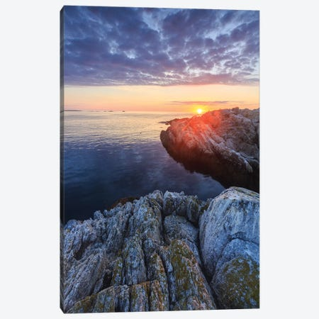 Sunrise on Appledore Island in the Isles of Shoals, New Hampshire II Canvas Print #JMM8} by Jerry & Marcy Monkman Canvas Art Print