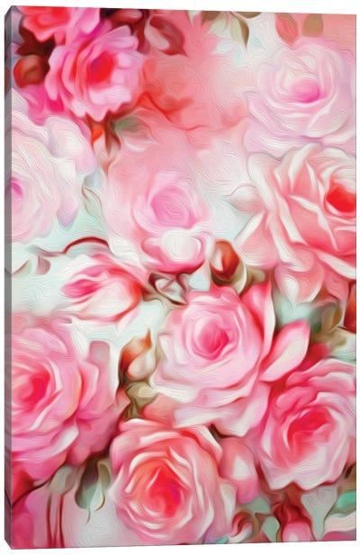 Shabby Chic Pink Canvas Art Print