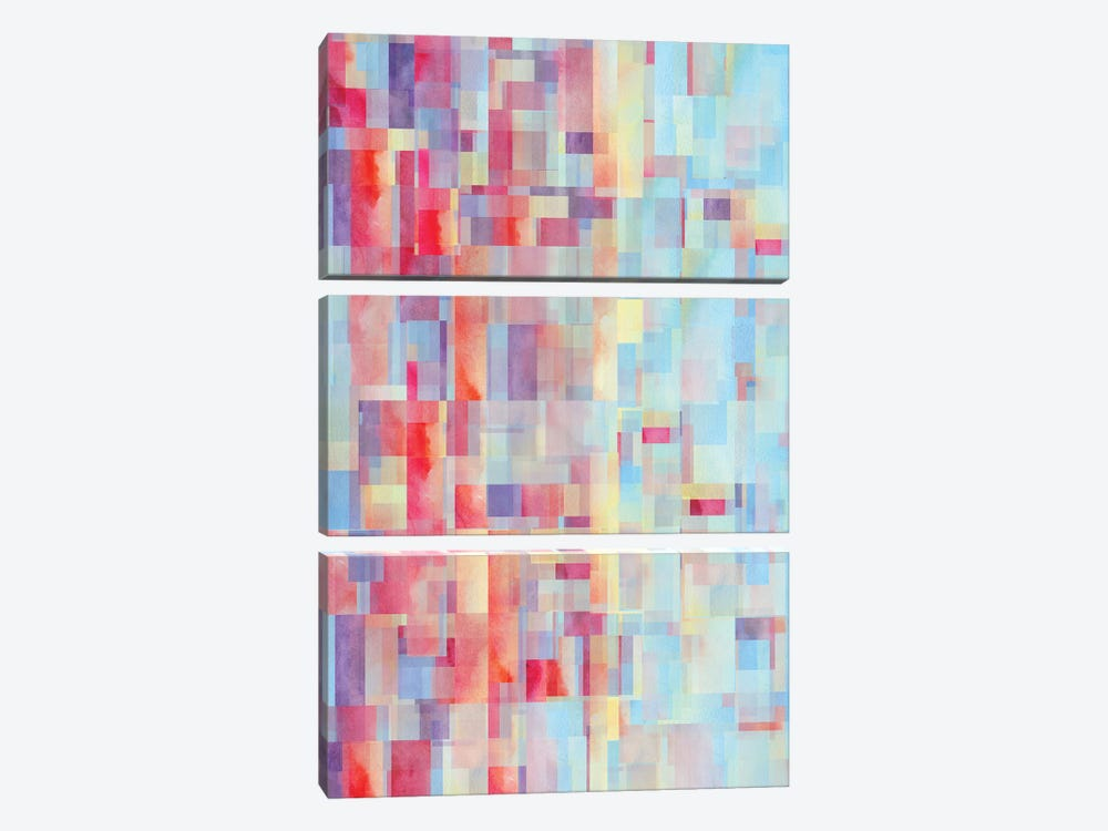 Shapeshifter 3-piece Canvas Print