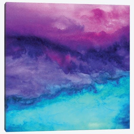The Sound Canvas Print #JMO105} by Jacqueline Maldonado Canvas Artwork