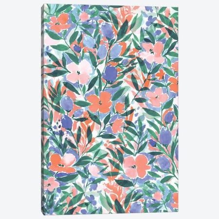 Nonchalant Coral Canvas Print #JMO116} by Jacqueline Maldonado Art Print