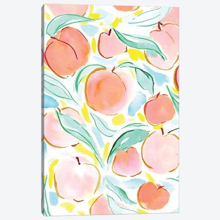 Peachy Canvas Print #JMO119} by Jacqueline Maldonado Canvas Art