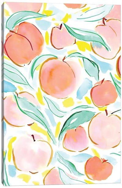 Peachy Canvas Art Print