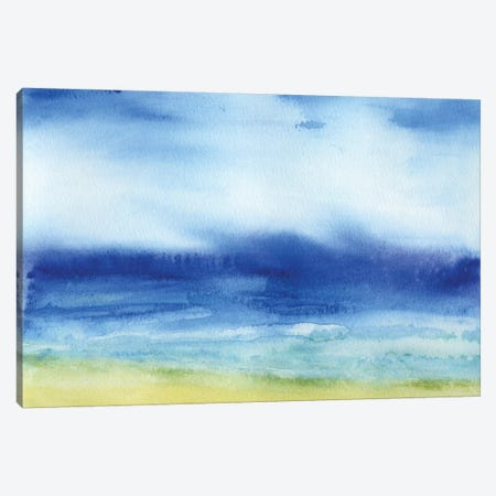 Sea Church 3-Piece Canvas #JMO122} by Jacqueline Maldonado Canvas Art Print