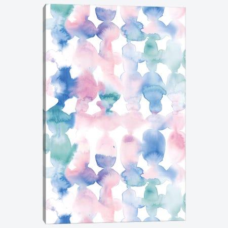 Dye Ovals Pastel Wandering Canvas Print #JMO138} by Jacqueline Maldonado Canvas Wall Art