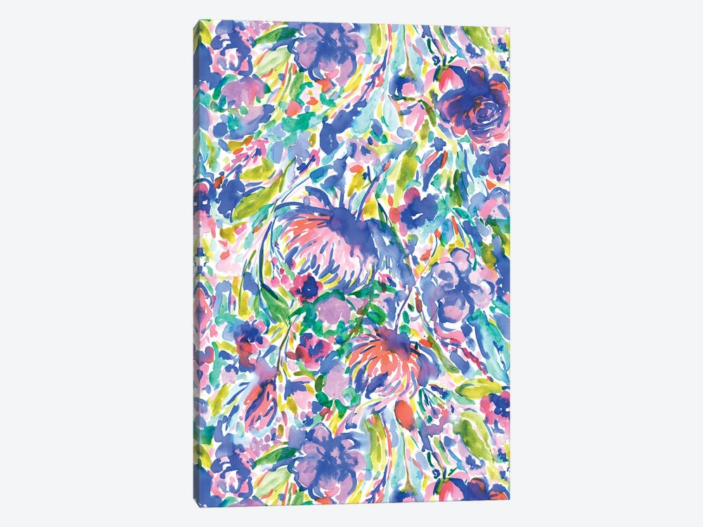 Maximal Floal Wild Free by Jacqueline Maldonado 1-piece Canvas Art