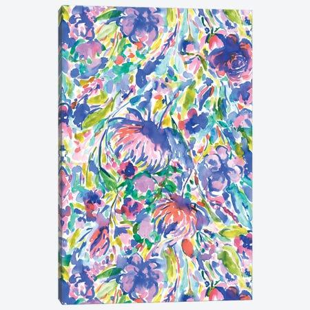 Maximal Floal Wild Free Canvas Print #JMO141} by Jacqueline Maldonado Canvas Print