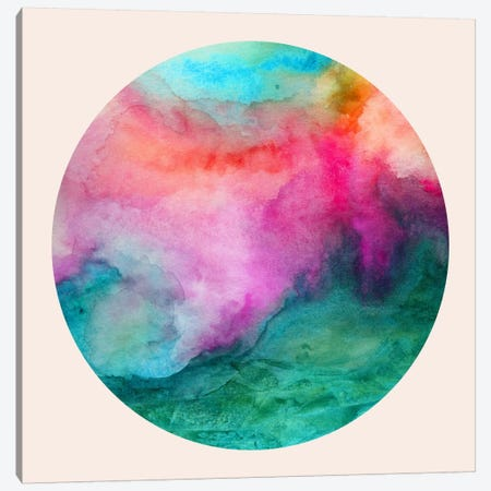 Staring At The Ceiling Canvas Print #JMO15} by Jacqueline Maldonado Canvas Wall Art