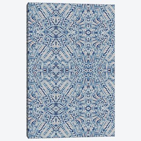 Clandestine Blue Canvas Print #JMO161} by Jacqueline Maldonado Canvas Print