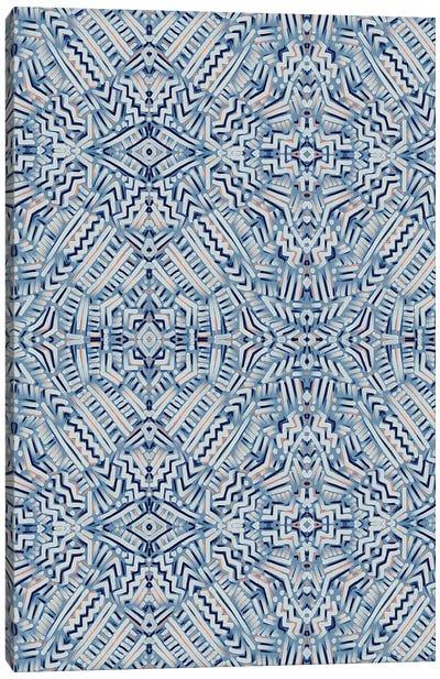Clandestine Blue Canvas Art Print